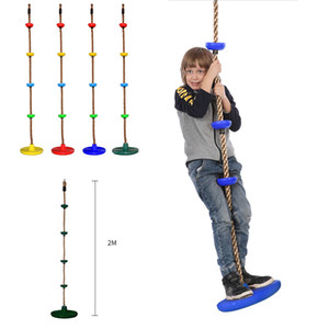 Altalena per bambini Arrampicata fondo Big disco swing dimensione del disco Climbing Rope Indoor Climbing Outdoor Sports Rope XD23625