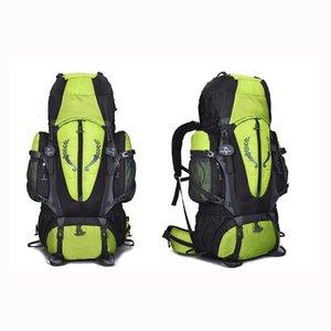 80L sırt çantası açık seyahat çantası spor çanta büyük kapasiteli çok fonksiyonlu kamp yürüyüş çanta ücretsiz gönderim