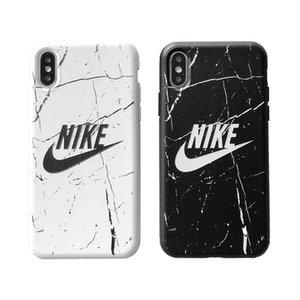 Бренд iPhone Чехол применимо для iPhoneXR XSMAX XS 7 8 plus 7 8 6 6SP роскошный чехол для телефона с фирменными буквами 2 стили
