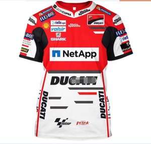 MOTOGP fleet factory uniform short T-shirt quick-drying suit racing T-shirt motorcycle riding short-sleeved court suit