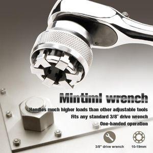 Çok Fonksiyonlu Anahtarı Adaptif All-Fitting Çoklu Matkap Eklenti Soket Krom Molibden Çelik Anahtarı El Aletleri Y200323