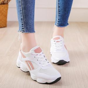 Overseas2019 Xinkuan Xia весна кроссовки Корейского Ulzzang Оригинал Старых Повседневный Женщина Вентиляционной Run Скейт обувь