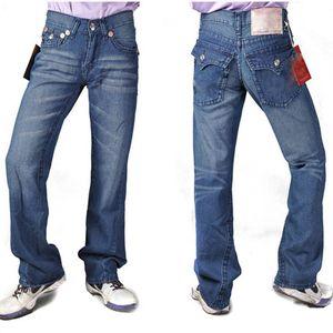 Echte Männer Jeans Zerrissene Distressed dünne Hosen Art und Weise kleidet dünnes Motorrad Moto Biker Hip Hop-Denimmann RELIGIONING Hosen EUR30-40