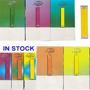 Einweg Vape Pen Hyppe Bar Geräte Pod E-Zigaretten Vape-Stick 1,3 ml leeren Pod Verpackung 280mAh Vape Batterie Vaporizer Pens E CIGS