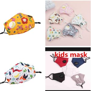 designer face masks fashion kids face mask Children's cartoon printed masks can wash children's protective breathable students