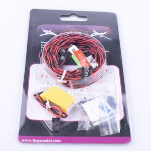 1:10 RC Realistic LED Lighting System Kit Helicopter Airplane Aeroplanes Aircraft Plane Models Toys