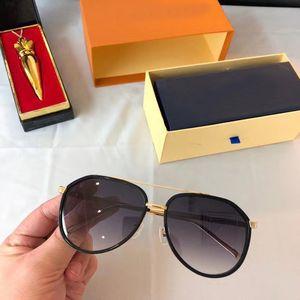 Gold Black Pilot Солнцезащитные очки Серый затушеванный z1203 Sonnenbrille Occhiali-да единственных Firmati мужчины солнцезащитные очки Оттенки с коробкой