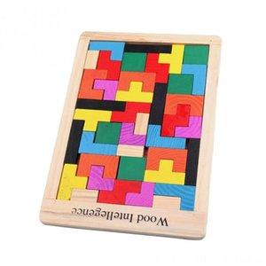 Komik Eğitim Oyuncak Ahşap Model Yapımı Setleri Taşları Model Kurma Eğitimi Hayal Renkli Tetris Blokları Geliştirme Oyuncak G Yazım