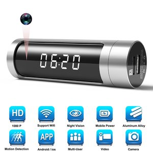 Orologio IP Allue amore NUOVO Wifi mini macchina fotografica HD 1080P orologio da tavolo segreto fotocamera Micro di visione notturna di sicurezza domestica Cam