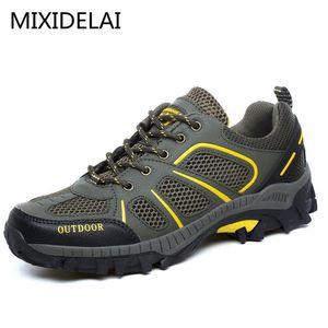 MIXIDELAI New Outdoor Men Shoes удобная повседневная обувь Мужская мода дышащие квартиры для мужчин кроссовки zapatillas zapatos