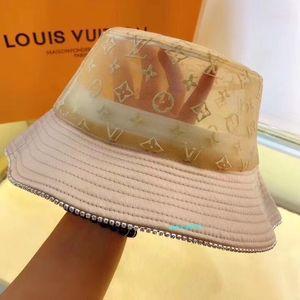 Italy classic Letter baseball cap Mens Womens Stingy Brim Hats high quality Fisherman Beach Sun Visor Sale Folding Man Bowler Cap S068