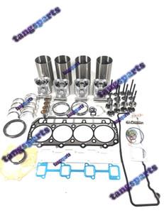 4TNV98 двигателя Rebuild комплект с клапанами Для YANMAR части двигателя бульдозера Вилочный Экскаватор Погрузчики и т.д. комплекта деталей двигателя