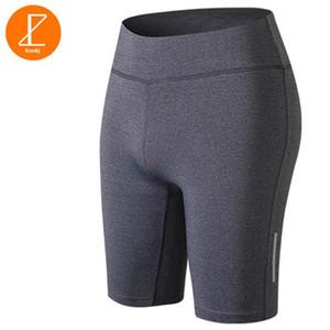 Ezsskj yoga de la aptitud mini shorts muchachas de las mujeres Correr capa base compresión cortocircuitos Pro ropa deportiva negra, blanca partes inferiores grises