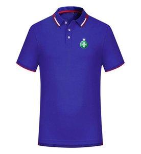 ASSE 2020 весной и летом новый хлопок футбол рубашка поло мужская с коротким рукавом отворот поло может быть DIY обычай мужской рубашки тройников