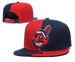 Indios de Cleveland sombrero de moda los viajes a New recorrido al aire libre gorras de béisbol deportes de la moda individual para los hombres y mujeres de vanguardia
