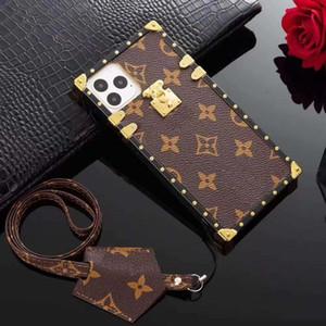 casse del telefono del progettista per samsung S8 S9 S10 S20 S11 PLUS LITE NOTA 9 10 PLUS casi Moda Cuoio trasporto libero