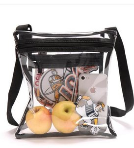 2019 2020 Clear Crossbody Purse Bag para esportes Aprovado Limpar Shoulder Tote Bag. Estádio Aprovado para Eventos Esportivos