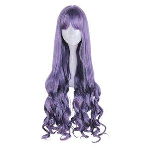Menina Cartão Factory Outlet Magia Sakura Avenue Temple Sabendo Dark World roxo Grey Saber World Cosplay Wig
