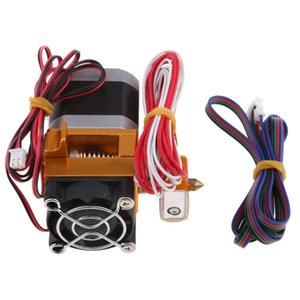 MK8 12V 400W Extrusora Cabeça J-Cabeça Hotend Bico 0,4 milímetros de alimentação da entrada Diâmetro impressora 1,75 Filamento Para 3D