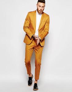 Popular One Button Groomsmen Peak Lapel Groom Tuxedos Groomsmen Best Man Suit Mens Wedding Suits Bridegroom (Jacket+Pants+Tie) B244