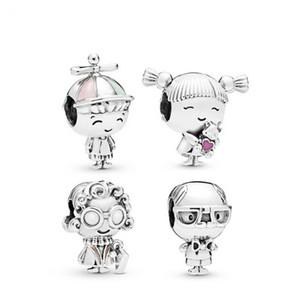 Novos ajustam pulseiras menino vovó vovó Dangle encantos Beads para por atacado diy jóias fazendo Family Member Bead Accessories
