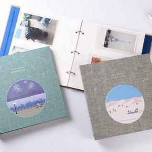 200 Pockets Loose Leaf Instant Photo Album Picture Case for Fujifilm Instax Mini8 9 7s 7C 25 70 90 3 Inch Mini Film Photo Album