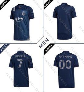 NUEVO 2020 Sporting Kansas City Fútbol MLS 2021 PULIDO Busio RUSSELL Gerso poco Gutiérrez 20 21 camisetas de hogar lejos Uniforme
