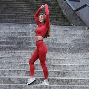 2019 Tuta sportiva da donna Tuta da donna Tute aderenti Abbigliamento sportivo Leggings sportivi Allenamento Abbigliamento da palestra Abbigliamento sportivo