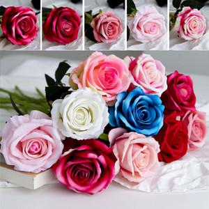 Soie artificielle Pivoine Fleur Rose Fleurs Fête de décoration de fleurs Décorations de mariage Fleurs de Noël Décoration d'intérieur DHL WX9-1635