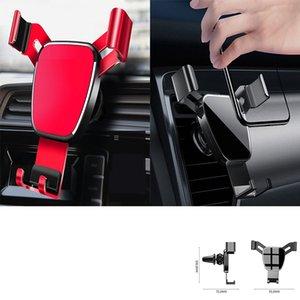 Carro Telefone Mount Air Vent, Slide-em Alum Alloy Phone Holder para o carro, a gravidade de aperto mãos-livres Berço Compatível com iPhone, Android Phone
