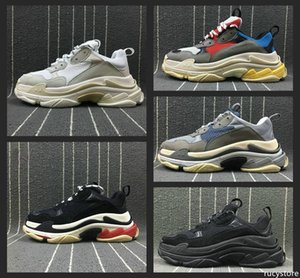 New Fashion Paris Triple-S Designer Shoes Low Platform Sneakers Triple S Mens Casual Women designer casual Sports Trainers Chaussures 36-45