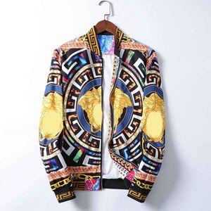 Fashionable luxury men's designer jacket windbreaker hooded jacket men and women autumn and winter leisure sports hooded jacket coat M-3XL