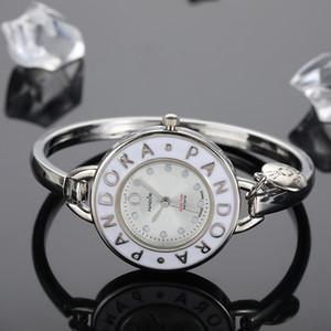 Pandora ultra finos relojes para mujer RELOGIO 30MM relojes relojes de regalo famoso vestido de la marca de moda diseñador del vestido pulsera Orologio