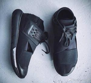 أحذية عارضة جديدة أحذية أحذية عارضة الأزواج Y3 Y3 QASA RACER هايت حذاء تنفس رجل إمرأة حجم EUR36-45