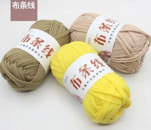 100g 7s   1 cloth strip special wholesale fancy cotton thread hand-woven bag seat cushion shoulder basket pillow and other woven decorative