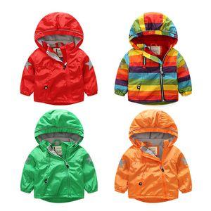 Kids Toddler Boys Jacket Coat primavera otoño cazadora con capucha para niños prendas de vestir exteriores ropa de bebé infantil Blazer Clothing1-6T