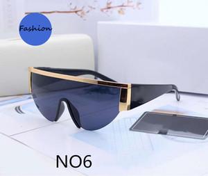 New Sunglasses Verão de condução óculos de sol para homens Mulher Praia 0019 6 cores opcionais Altamente qualidade