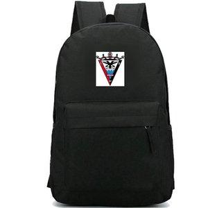 Mirandes backpack Deportivo club badge day pack 1927 Football school bag Soccer packsack Quality rucksack Sport schoolbag Outdoor daypack