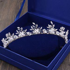 QUEENCO свадебные аксессуары для волос тиара корона диадема Womem украшения для волос Accesorios Mujer свадебные украшения оголовье