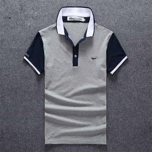 2019 Hot vente de luxe de coton Polo Chemises Homme High Street Fashion Little Bee Imprimer Mens Desginer Marque Polos Polo t-shirt 025