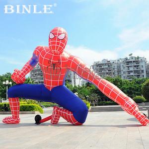 Customized lebensgroße riesiger aufblasbare spiderman erstaunlicher aufblasbarer Spinne Mann Ballon zum Verkauf