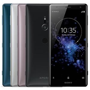 Recuperado Original Sony Xperia XZ2 H8216 H8266 H8296 5,7 polegadas Octa Núcleo 4GB / 6GB RAM 64GB ROM 19MP 4G LTE Desbloqueado Android 10pcs telefone celular