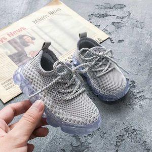 DIMI Primavera / Outono respirável Knitting Menino da menina da criança Sapatos infantil Sneakers Moda macio e confortável Baby Shoes Primeira Walkers