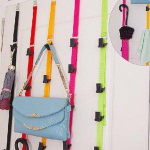 Многофункциональная сумка Hat Одежда Key Nylon Belt Coat Rack Органайзер Регулируемый крюк из нержавеющей стали
