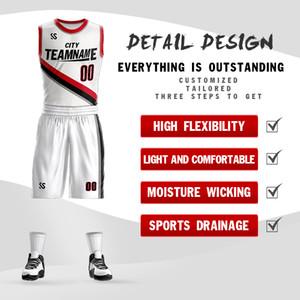 Kolej Basketbol erkekler spor çocuk basketbol formaları üniversite için belirlenen Wears 2019 yeni yüksek kaliteli DIY özel eşofman