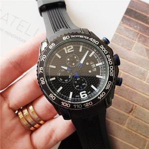 sports hommes montre Montres hommes de luxe pleine fonction première marque montre-bracelet horloge mâle militaire Six broches orologio di lusso de Montrésor lu