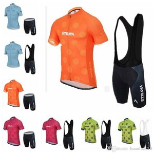 Ropa Ciclismo Strava Team Summer Cycling Jersey mtb maillot Ropa de bicicleta transpirable Ropa deportiva de bicicleta de manga corta de secado rápido 62702
