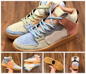 2020 New Dunk SB High Spectrum Laufschuhe für Männer Turnschuhe der Frauen Mandarinen-Enten-Trainer Männer Schuhe des Chaussures