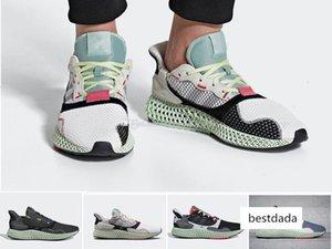 ayakkabılar siyah beyaz spor ayakkabı boyutu 36-45 çalışan 2019 zx4000 ZX 4000 Futurecraft 4D alphaedge y3 erkekler