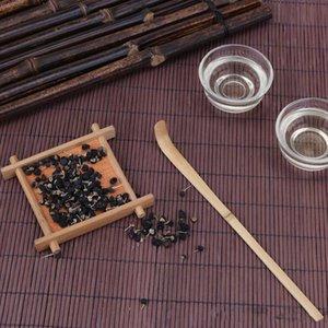 Hecho a mano de bambú Cuchara de té Cuchara Matcha Palos Matcha Ceremonia del té Accesorios Retro Relajante estilo de casa de campo cucharadas Palitos de té herramienta